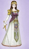 Princess Zelda by Daniel-Link