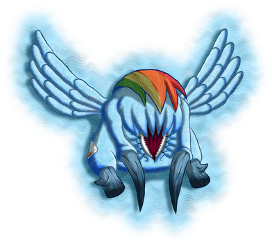 Rainbow Dash: Headcrab by Super-Zombie