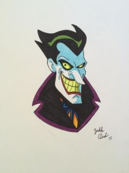 The Man Who Laughs by Invader-Vash