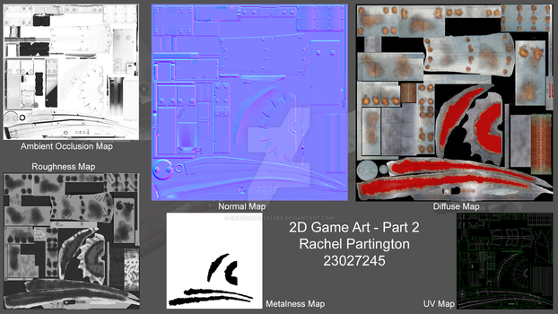 RachelPartington TextureMaps by Crazyartstalker