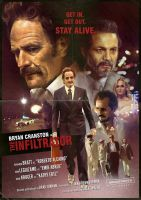 THE INFILTRATOR alternative movie poster by IgnacioRC