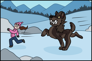 [Taming Hati No.4] Wild Goof Chase by NorthPaws