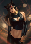 High Fashion Catwoman Pepper by raikoart