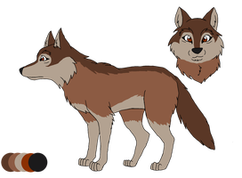 Now and Forever: Regina Ref Sheet [2015-2016] by DragonDogFilmsG