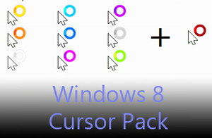 Windows 8 Cursor Pack by AnBlues
