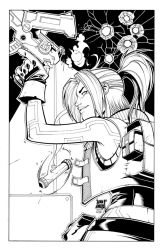 Terra (Joey Vazquez)  By Biroons Inked by NickSchley
