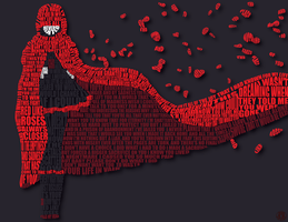 Ruby Rose Minimalism Display Typography (May 2017) by AlphaSatanOmega