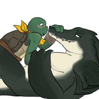 alligator bf by ZephPirate