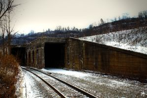 Train Tunnel by PhillyPuddy