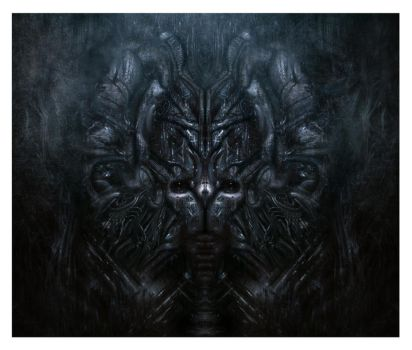 Giger Homage by leventep