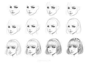 Female Character Drawing Class on Skillshare by GabrielleBrickey