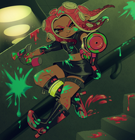 Agent 8 by aphelione