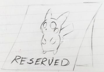 Table Reserved by Randamu-Chan