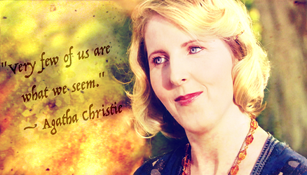 Doctor Who Wallpaper: Agatha Christie by U-No-Poo