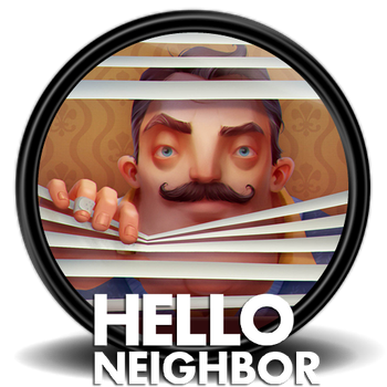 Hello Neighbor Icon (3) by Malfacio