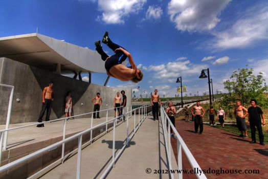 Midwest Parkour and Freerunning Jam - Logan by ellysdoghouse