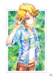 Mystic Galaxy Messenger - Yoosung by Marini4