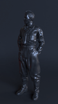 Soviet solider wwII by mihciko