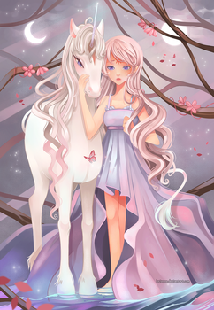 +Midsummer in Lilac Forest+ by larienne