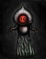 Flatwoods Monster (Colored) by KingOvRats