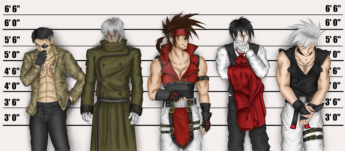 The Usual Suspects by SilverMonki