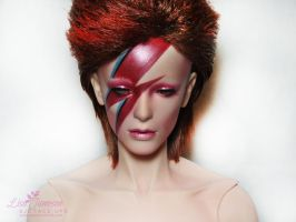 Pygmalion Ha BJD as Aladdin Sane by Pepstar by PepstarsWorld