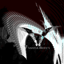 Sinister Photoshop Brush Pack by Fortelegy