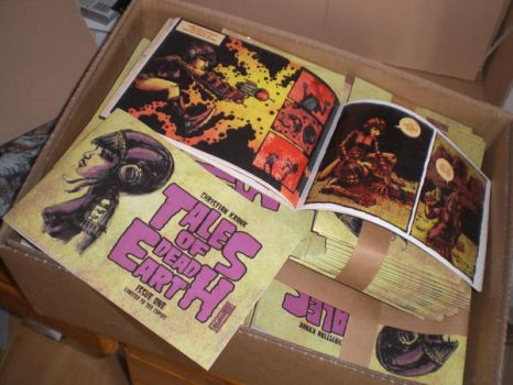 Tales of Dead Earth Comic Book by NuclearNietzsche