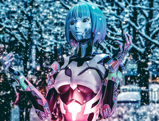 Slow snow by RiStarr
