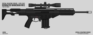 D/SR-10A2 Designated Marksman Rifle by XERW
