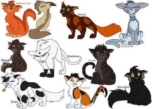 More Kitties by Zee-Stitch