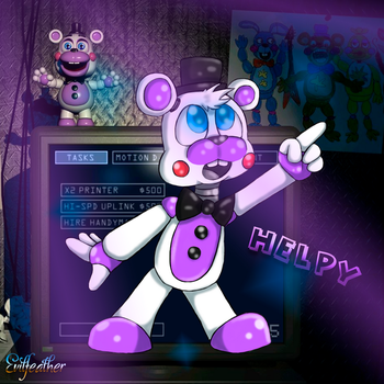 [FNAF6] Helpy by evilfeather