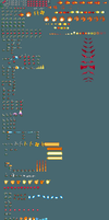 Repta Knight Sprite sheet by CometX-ing