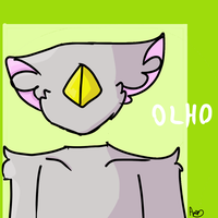 new character: Olho by ghostthecat001