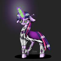 Twilight Sparkle Dark Magic by moondaneka