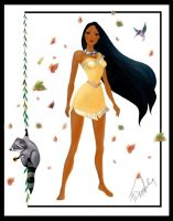 Pocahontas by TheSwanMaideN