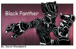 Black Panther by badgerlordstudios