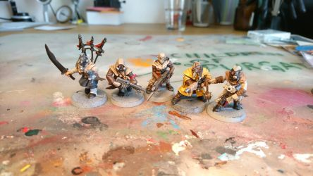 WIP Chaos Cultists as post-apoc raiders by fuxstag
