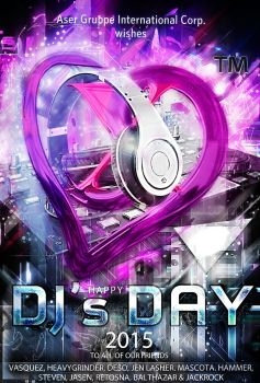 Happy DJ's Day 2015 by idlebg