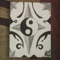 Yin-Yang Painting by xXSilvrTheShipprXx