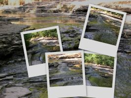 Slatebed Creek Collage by dhunley