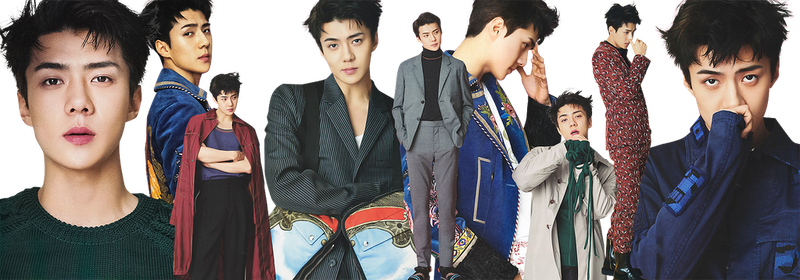 EXO Sehun PNG Pack {L'Optimum} by kamjong-kai