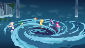 [MLP The Movie] The Whirlpool to Seaquestria by DashieMLPFiM