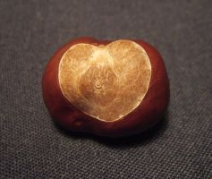Chestnut heart by laracoa
