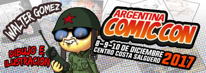 Argentina Comic Con LAUNCH by chochi