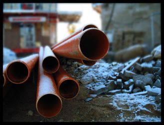Red pipes by liis5bet