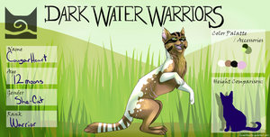 Cougarheart ~ WindClan ~ Warrior by Cinderglow