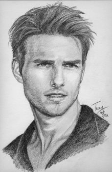 Tom Cruise by TerryXart