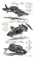VTOL concepts by Jett0