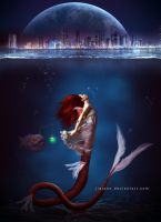 Mermaid undercity by jiajenn
